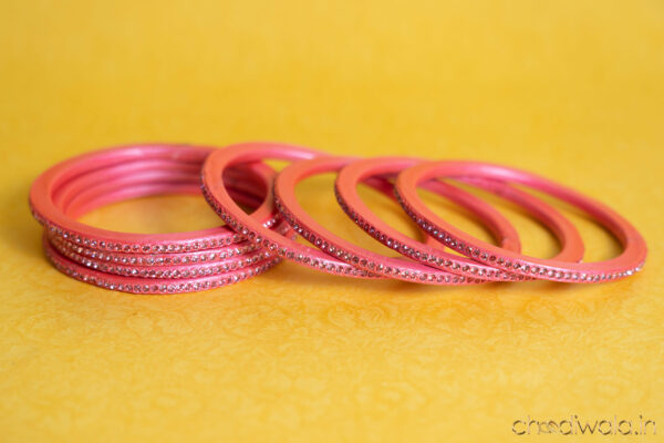 Baby Pink – Colour to Colour Lac Bangle