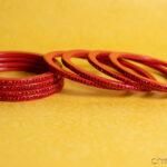 Red - Colour to Colour Lac Bangle