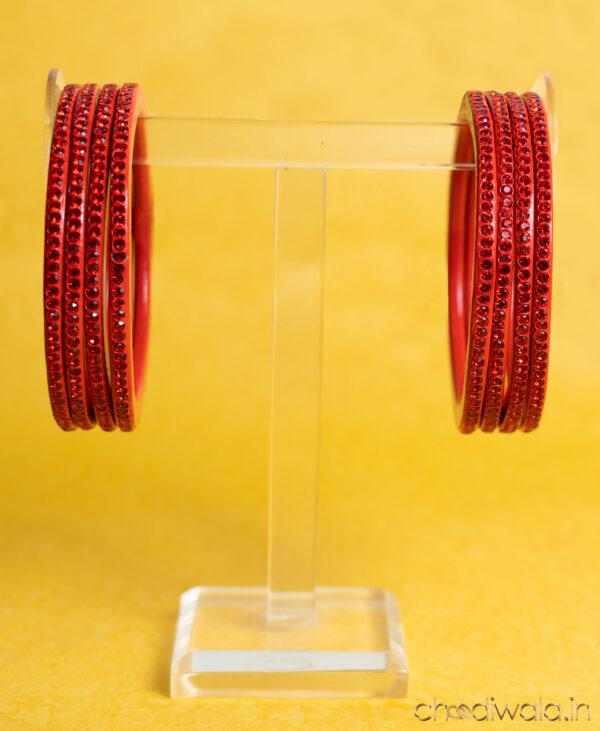 Red – Colour to Colour Lac Bangle