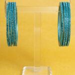Turquoise Blue - Colour to Colour Lac Bangle