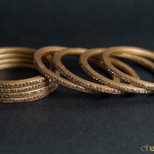 Golden - Colour to Colour Lac Bangle