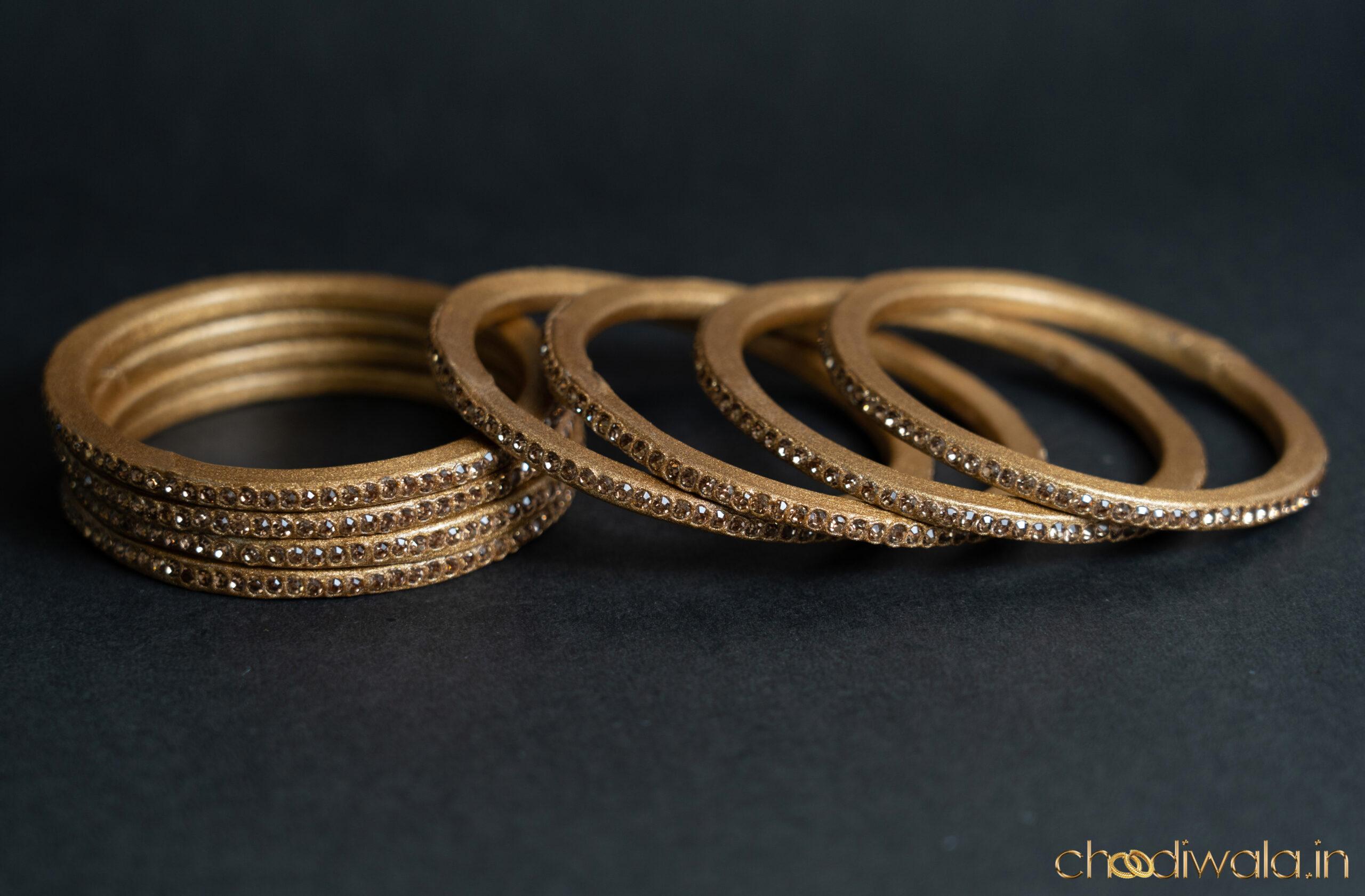 Golden – Colour to Colour Lac Bangle