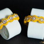 Yellow-Cream - Zig-Zag Kada