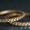 Golden - Diamond Full Kundan Lac Choodi