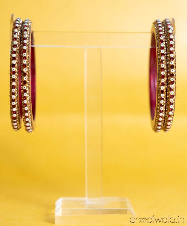 Red – Pulse Beads Lac Choodi