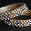 Multi-Coloured Pulse Beads Lac Choodi