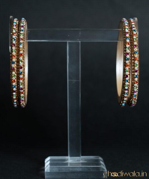 Light Gold - Pulse Beads Lac Choodi