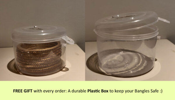 FREE GIFT – Durable Plastic Box with every Order!